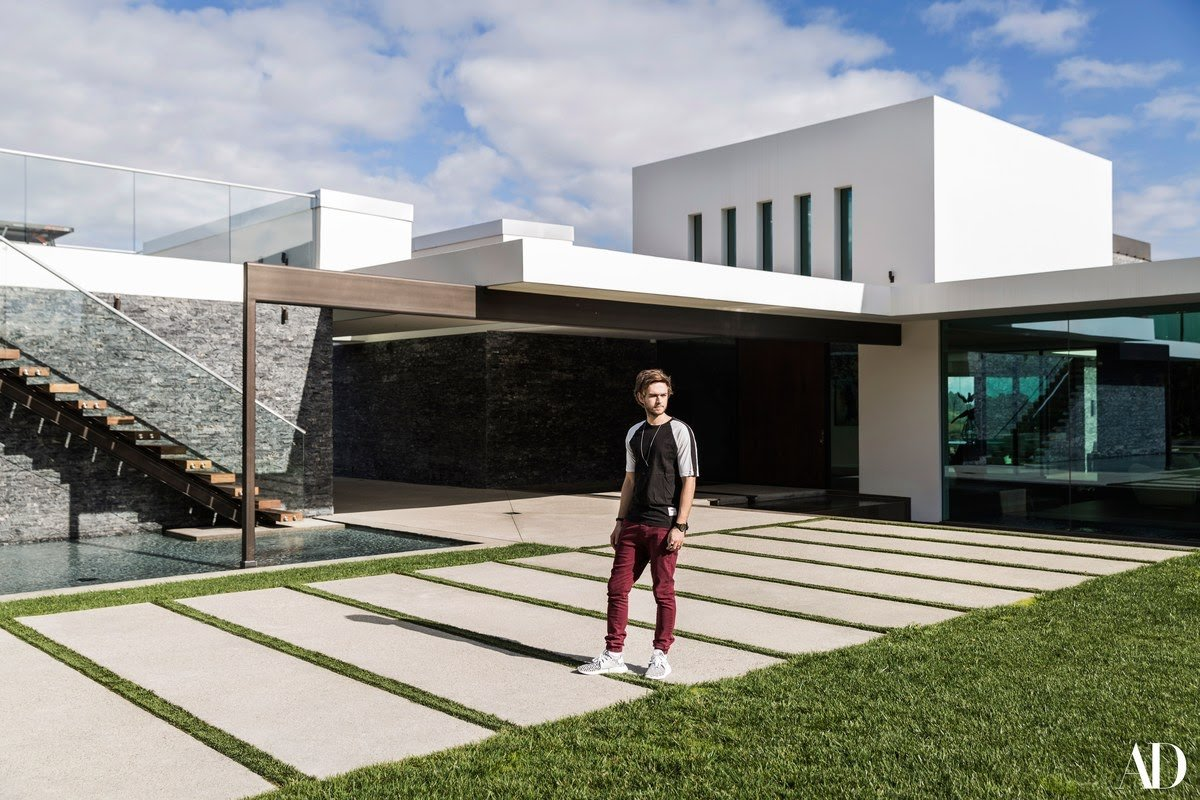Inside DJ Zedd's $16 million mansion that has a skittles machine