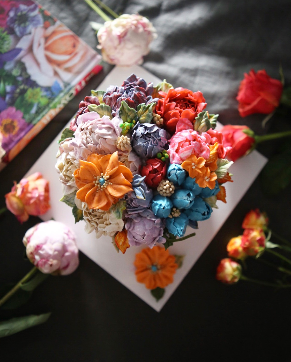 These flower cakes will blow your mind away