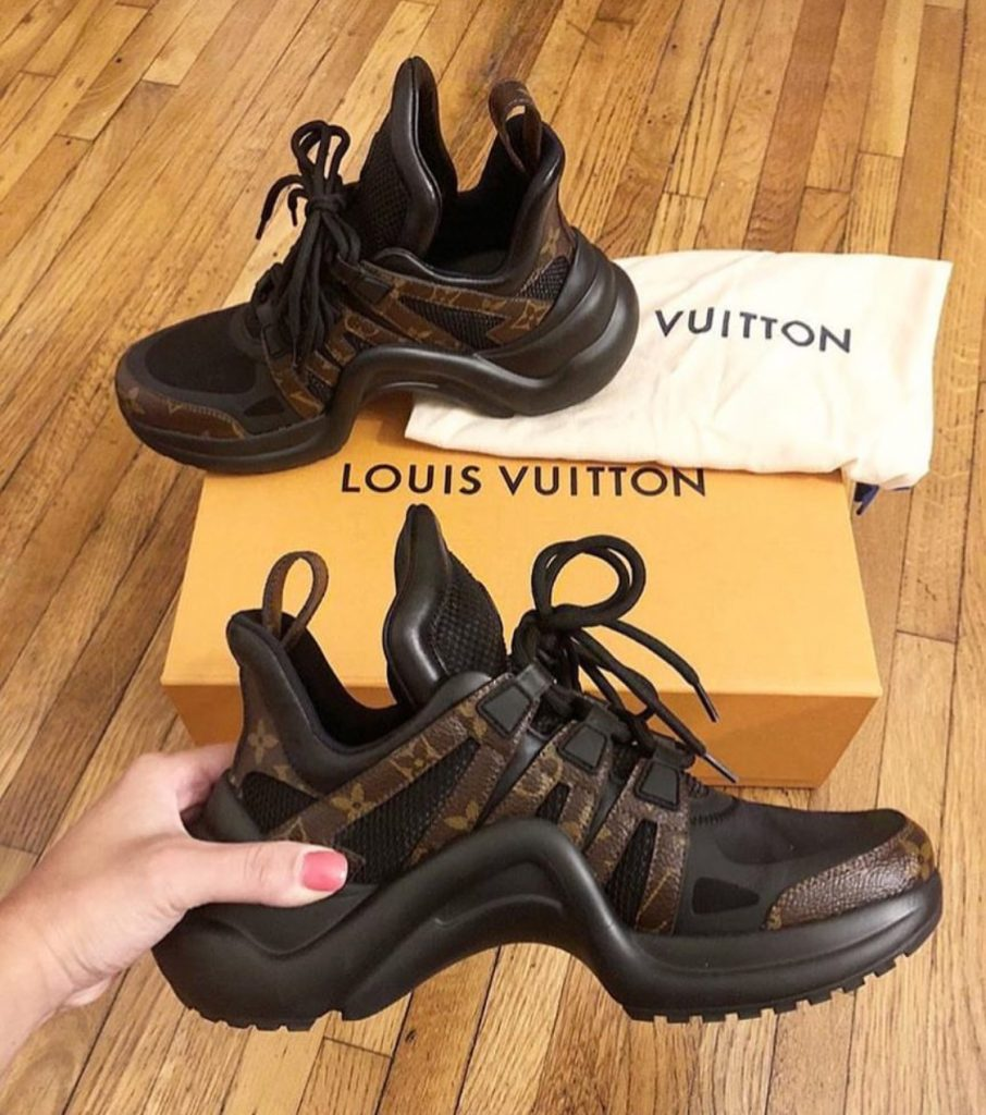 Louis Vuitton SS18 trainers