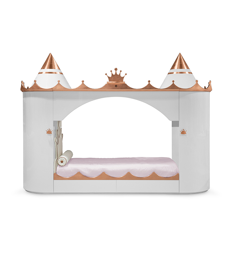 King and Queen castle bed