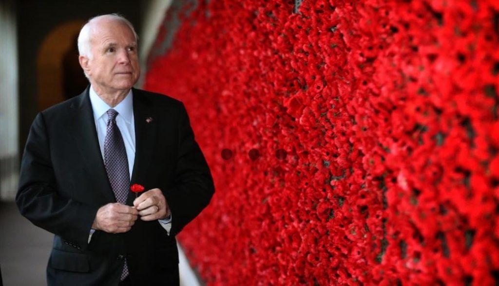 Senator John MC Cain passes away at 81