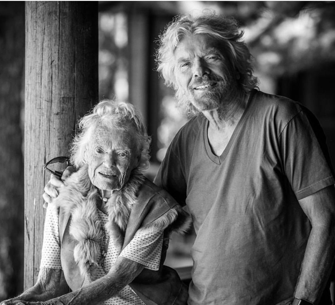 Richard Branson explains how his mom made him a billionaire
