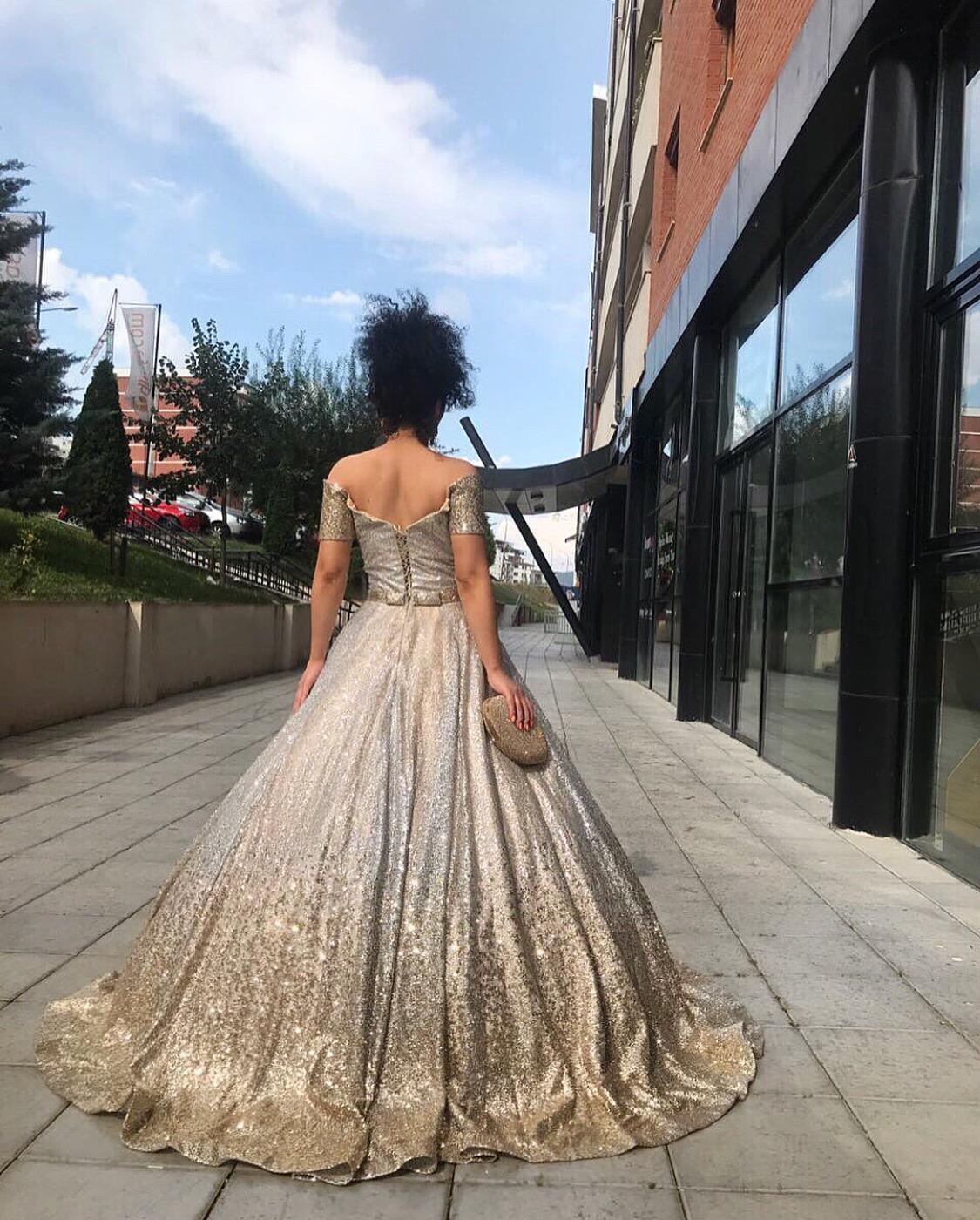 Shiny Evening dress