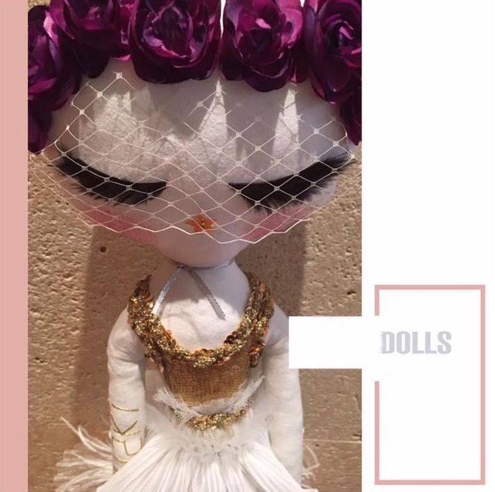 Luxury Haute couture doll