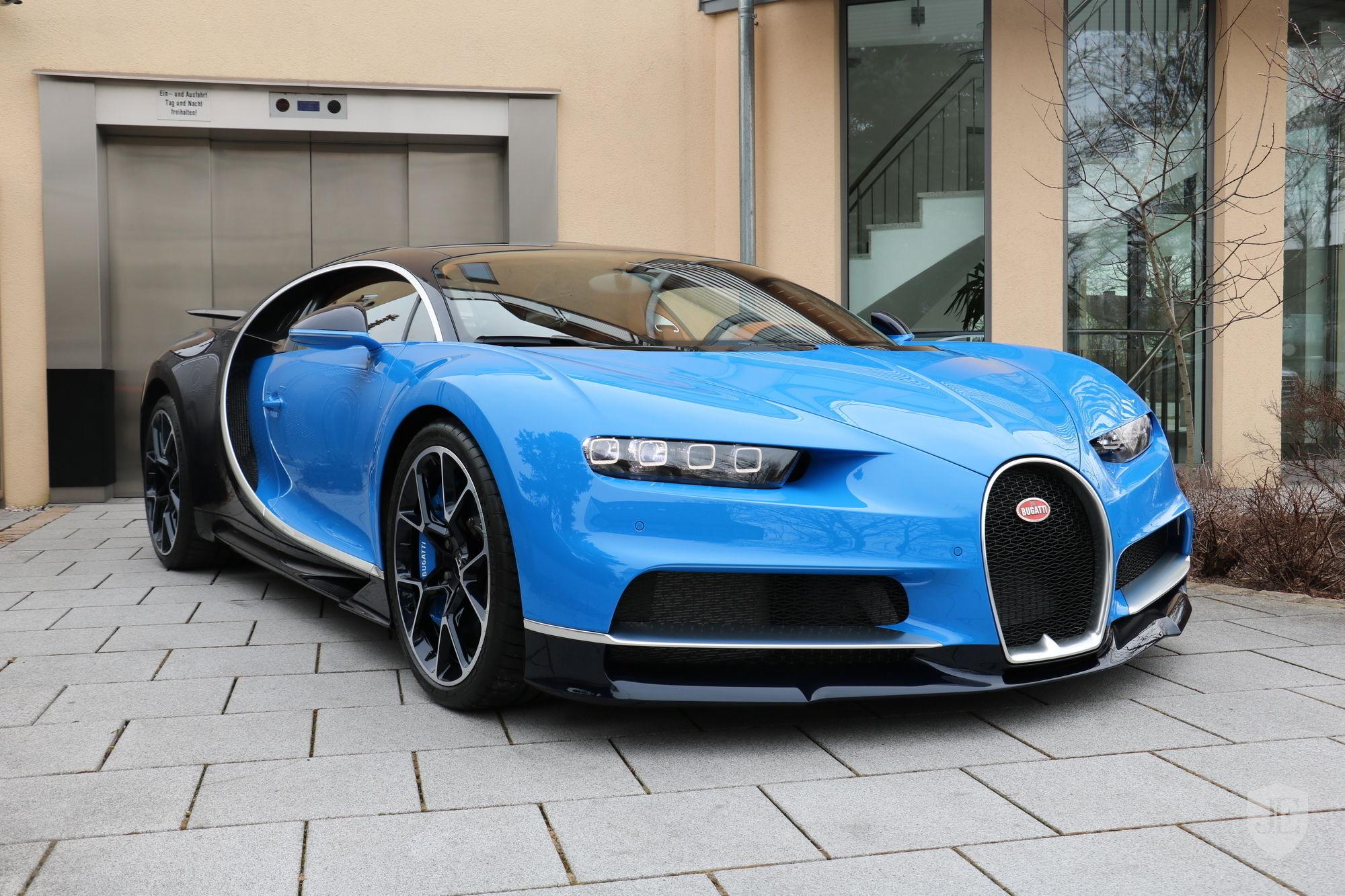 Bugatti Chiron new