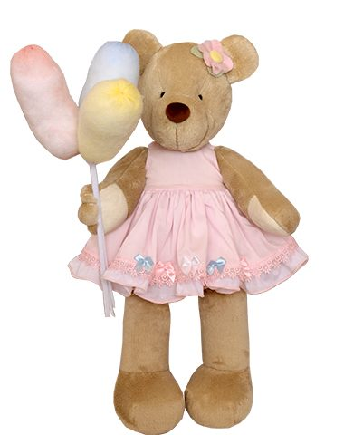 Cotton Candy Bear Plush doll
