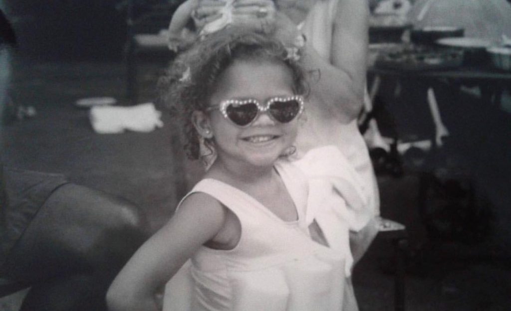 Zendaya celebrates her 22nd birthday with the most adorable throwback photo