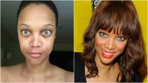 Slaylebrities who are completely unrecognisable without makeup