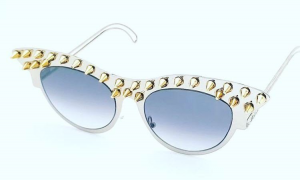 Studded Luxury couture eyewear