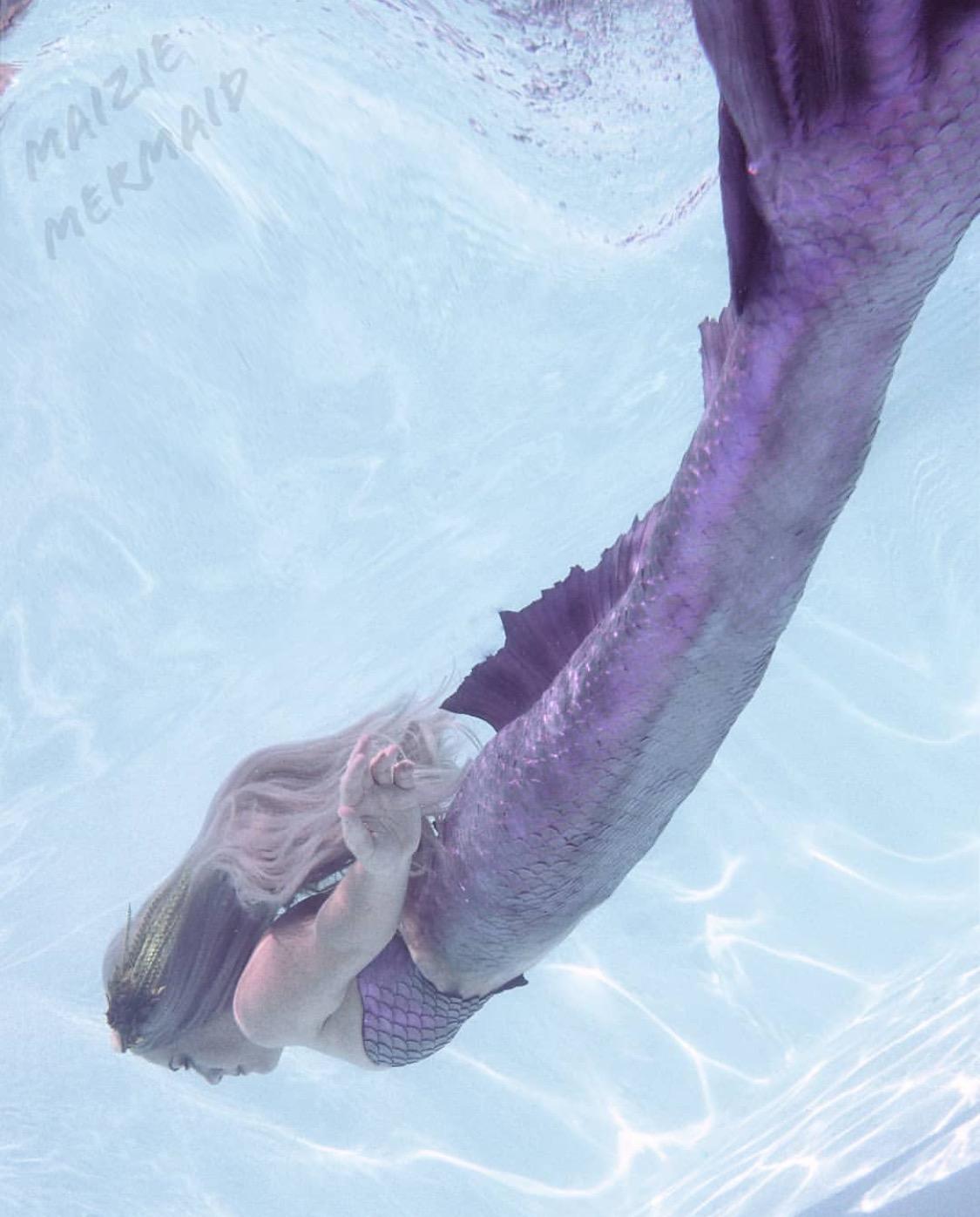 Maizie the Grand Canyon mermaid