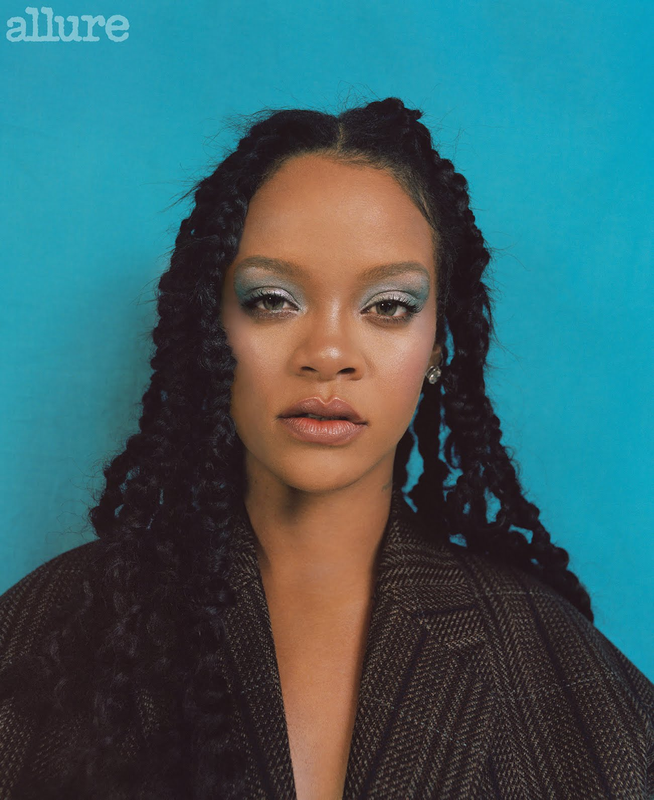 Rihanna Lights Up the Cover of Allure's Best of Beauty Issue