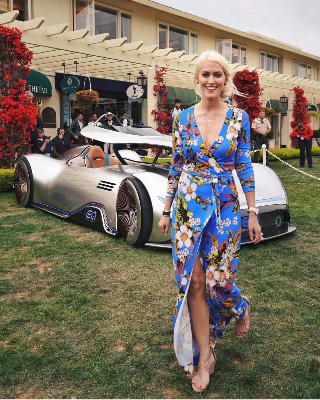 Supercar Blondie Rides The Coolest Mercedes Benz You'll