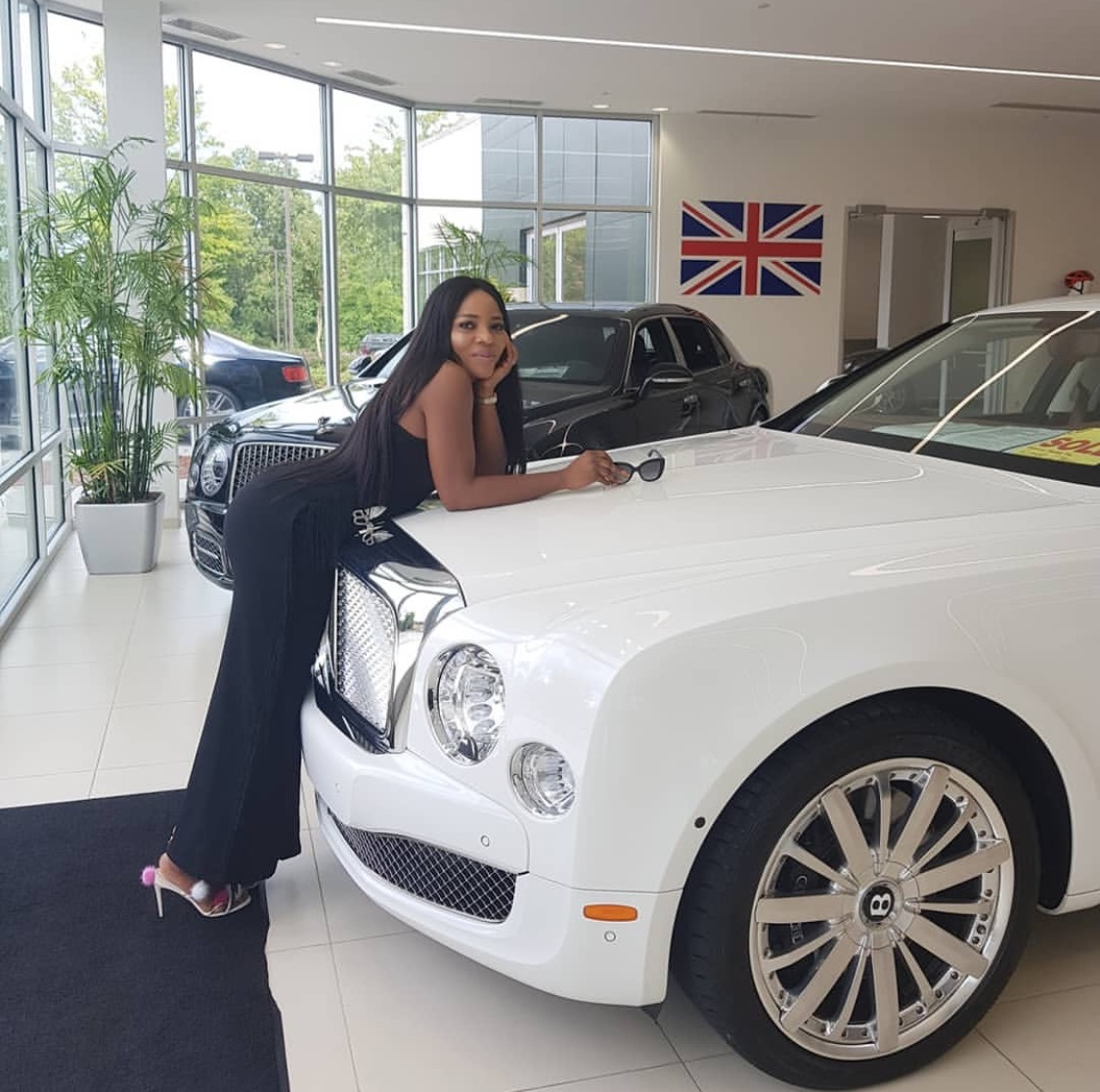 Linda Ikeji Media entrepreneur buys Bentley Mulsanne worth $305,000 for son