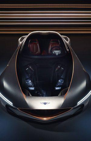 Hyundai Genesis Essentia sports car