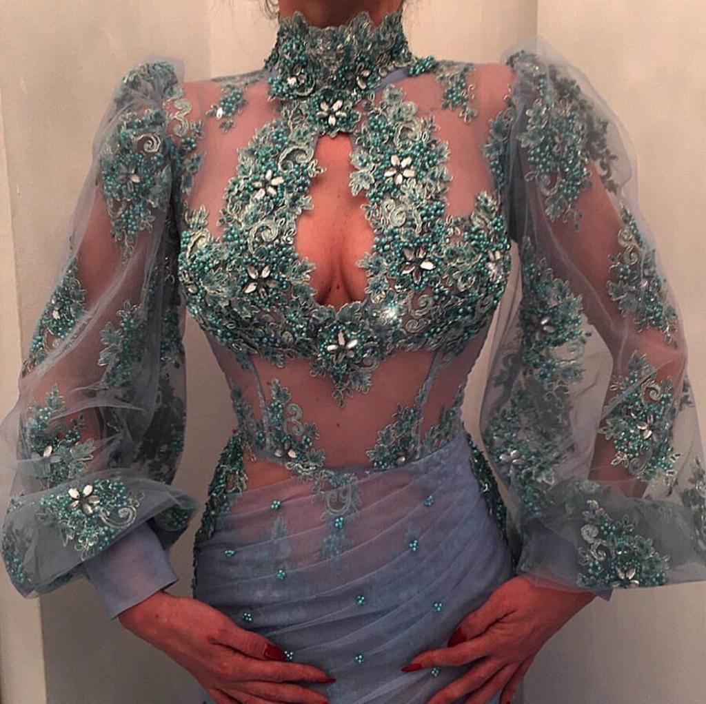 Extra mermaid extravagant look