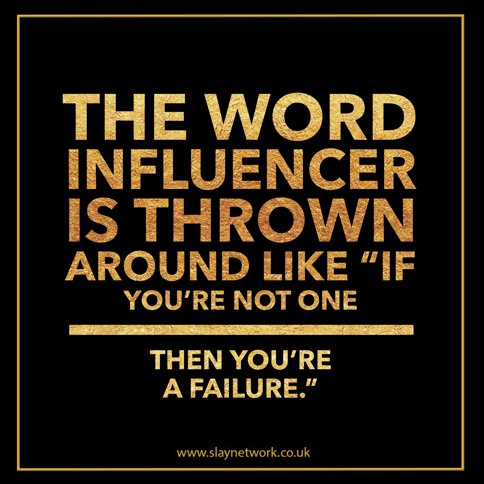 Why should you bother to reach the ridiculous milestone of becoming an influencer?