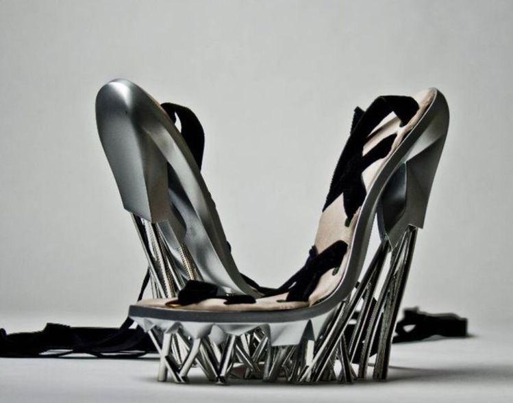 Sci fi luxury women's shoes