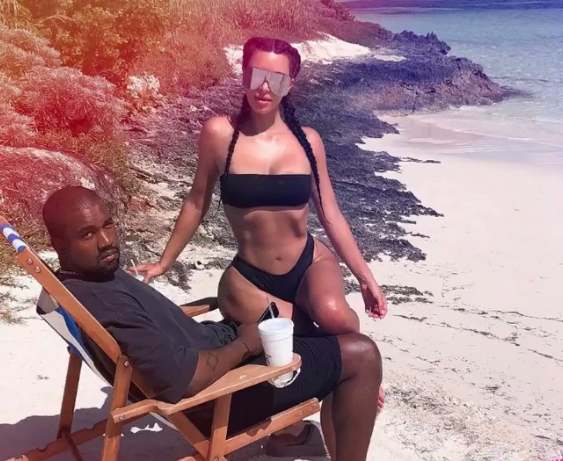 Should Kanye West be ashamed of himself for posting naked photos of his anorexic-ish wife online?