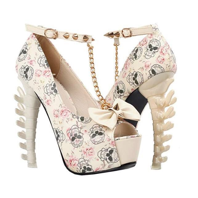 Skull women's shoes