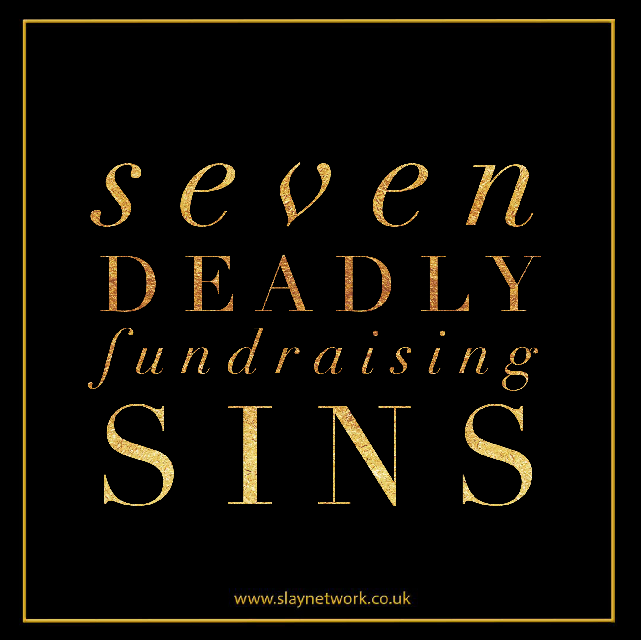 The seven deadly fundraising sins that could kill your startup