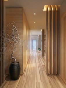 Statement hallway ideas