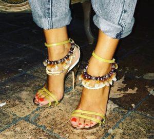 Tribal women's shoes