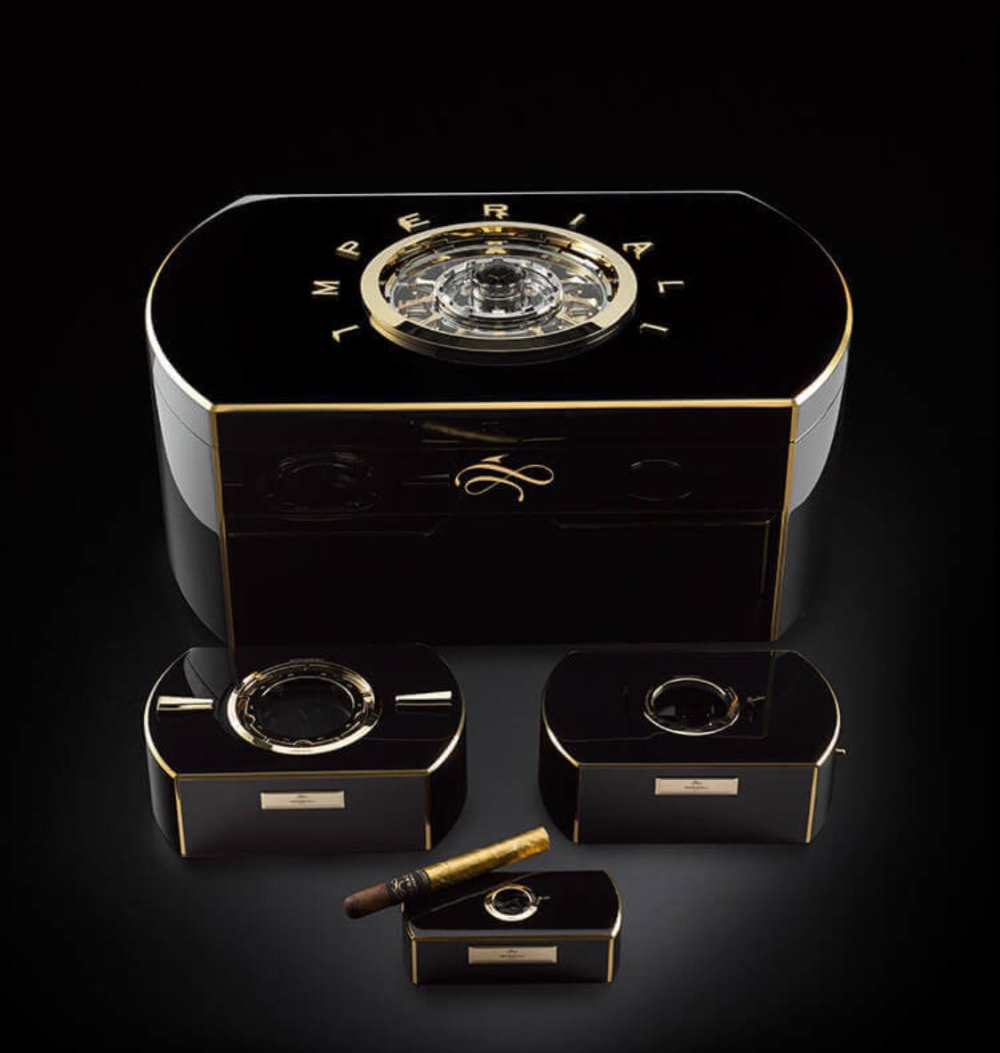 Worlds most extravagant cigar chest
