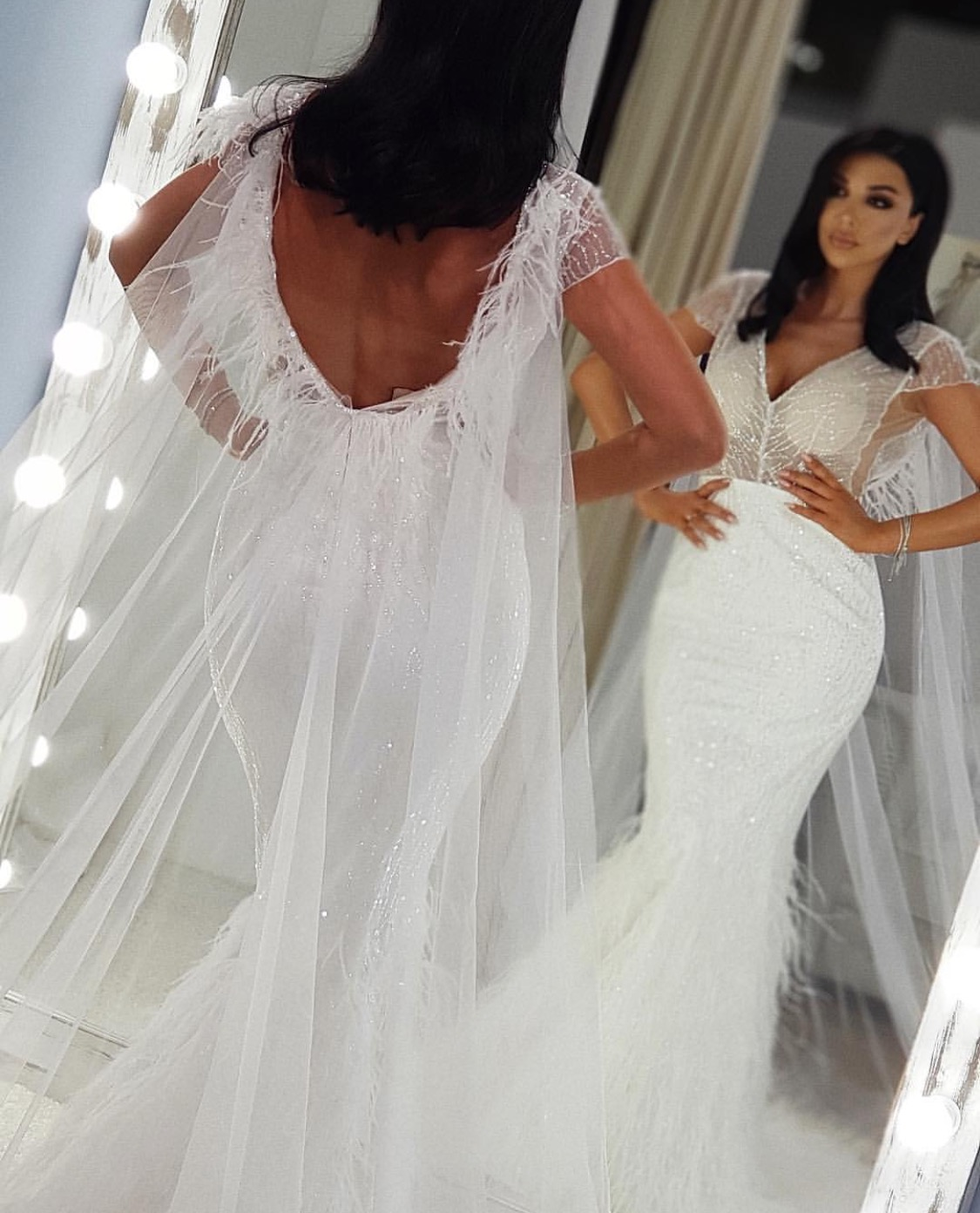 The sexiest wedding dress ever
