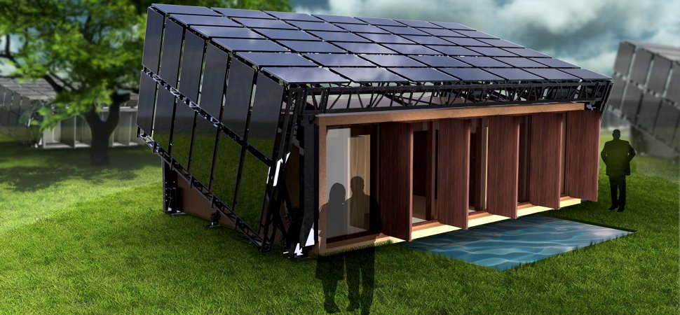 Meet the house that tilts and turns powered by Solar