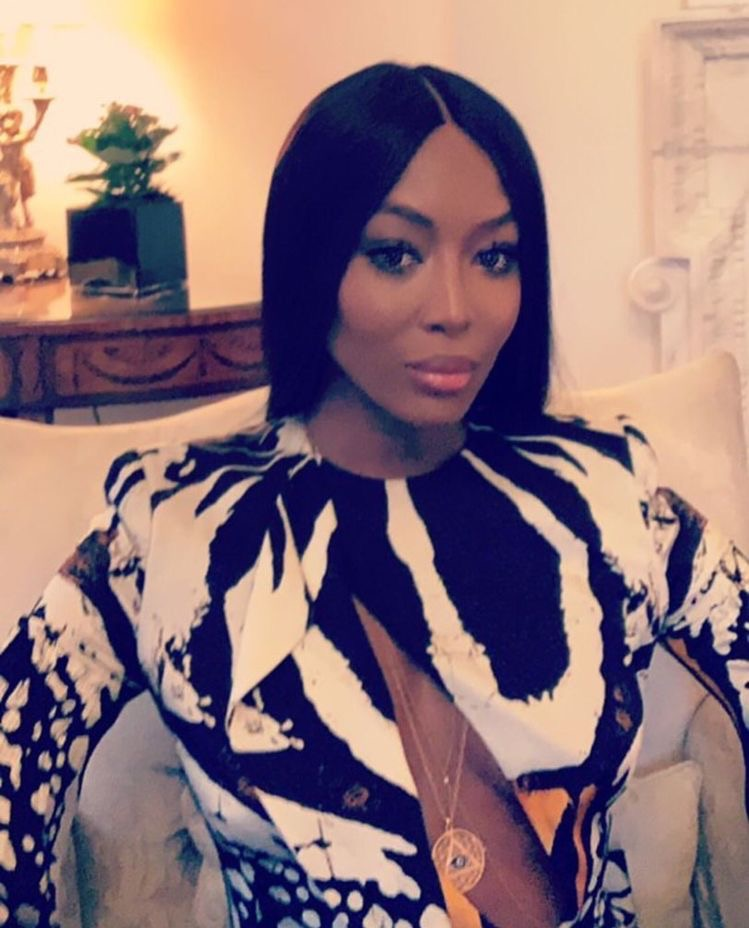 How does Naomi Campbell look this good at 48