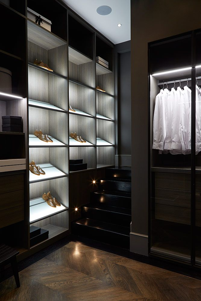 Transparent indoor closet ideas