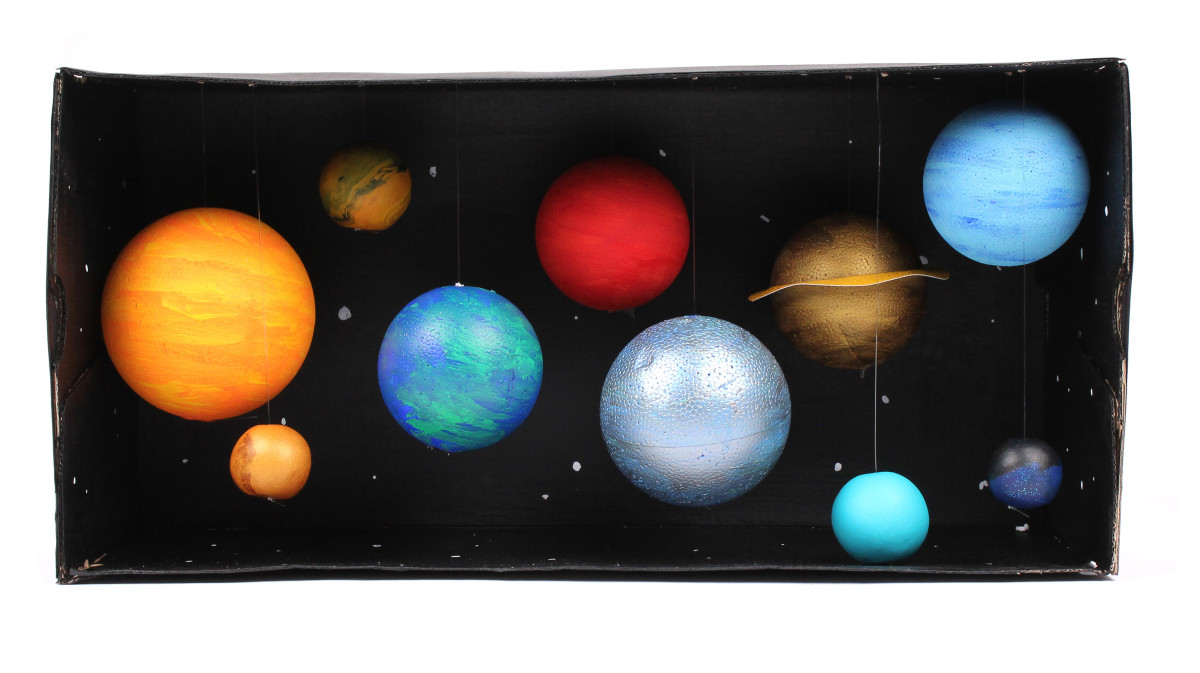 Model Solar System arts and craft