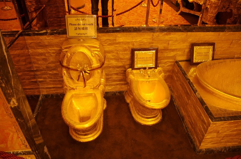 Worlds most opulent bathrooms