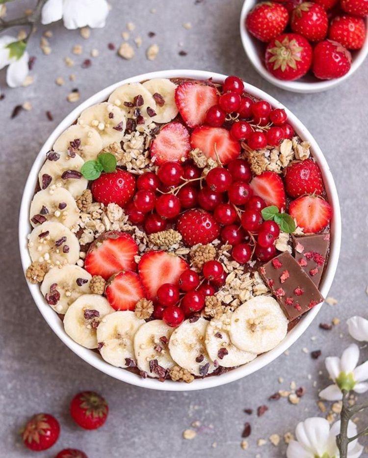 Stunning yummy breakfast bowls