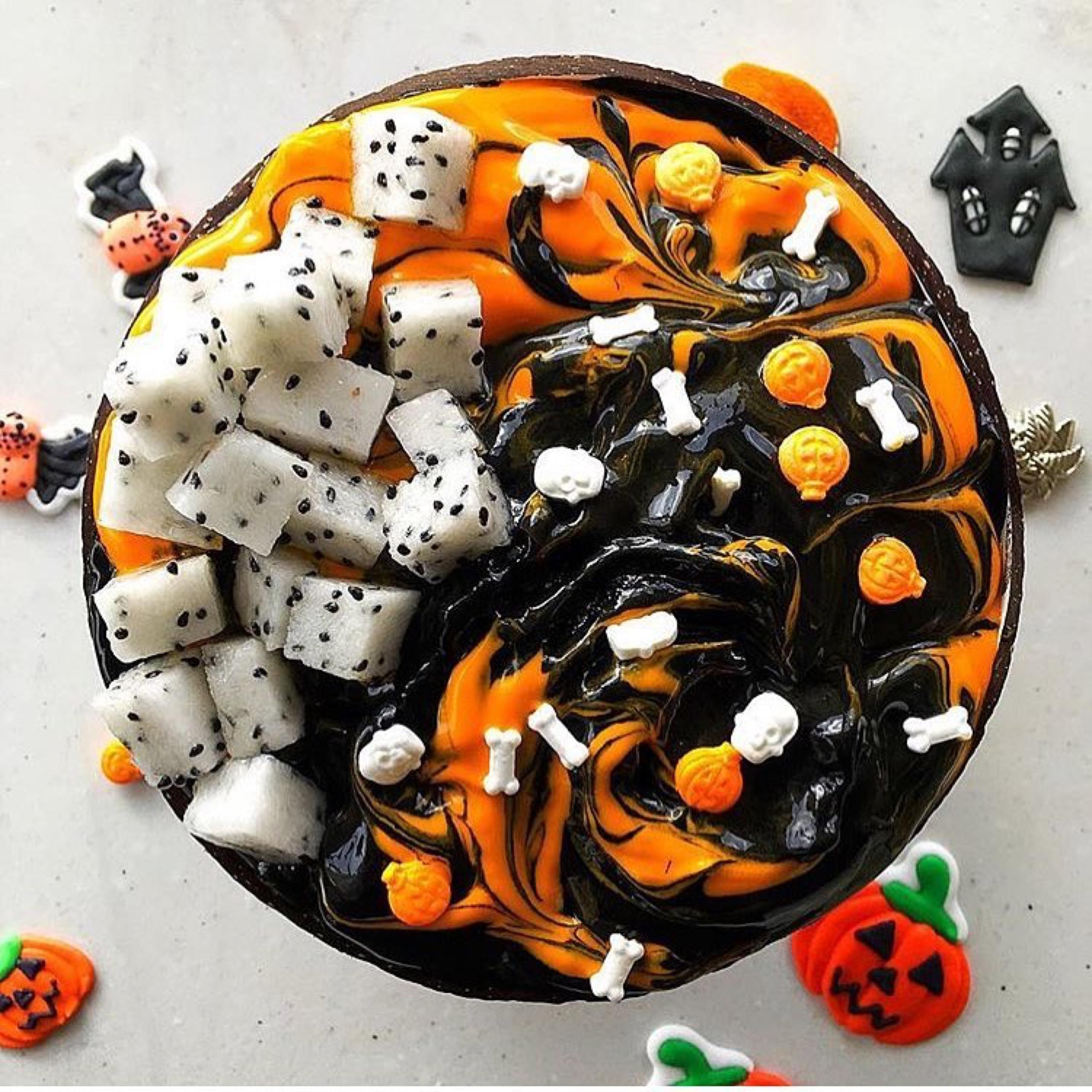 Halloween cheat day treats