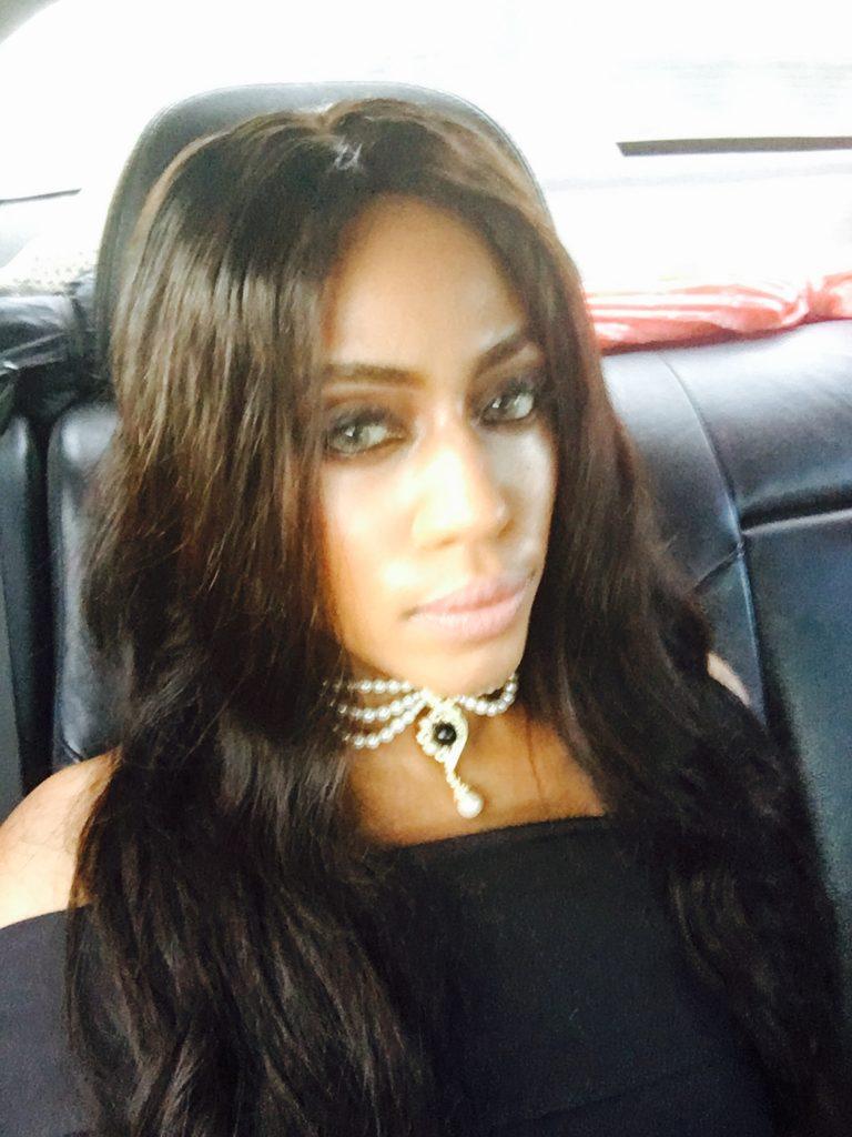 Bella: super long black luxury wig