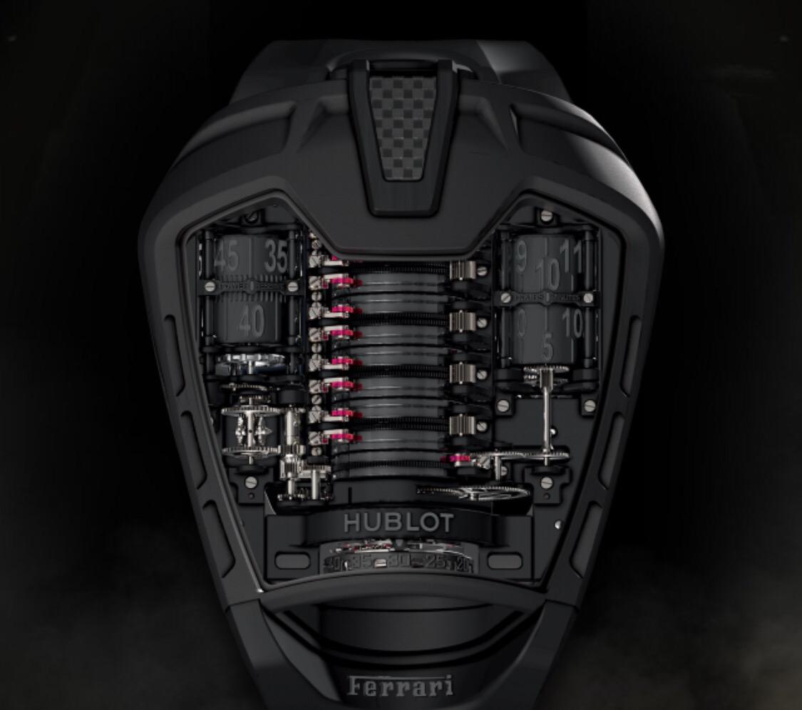 Hublot MP-05 La Ferrari 50 Days All Black Titanium Men's Watch