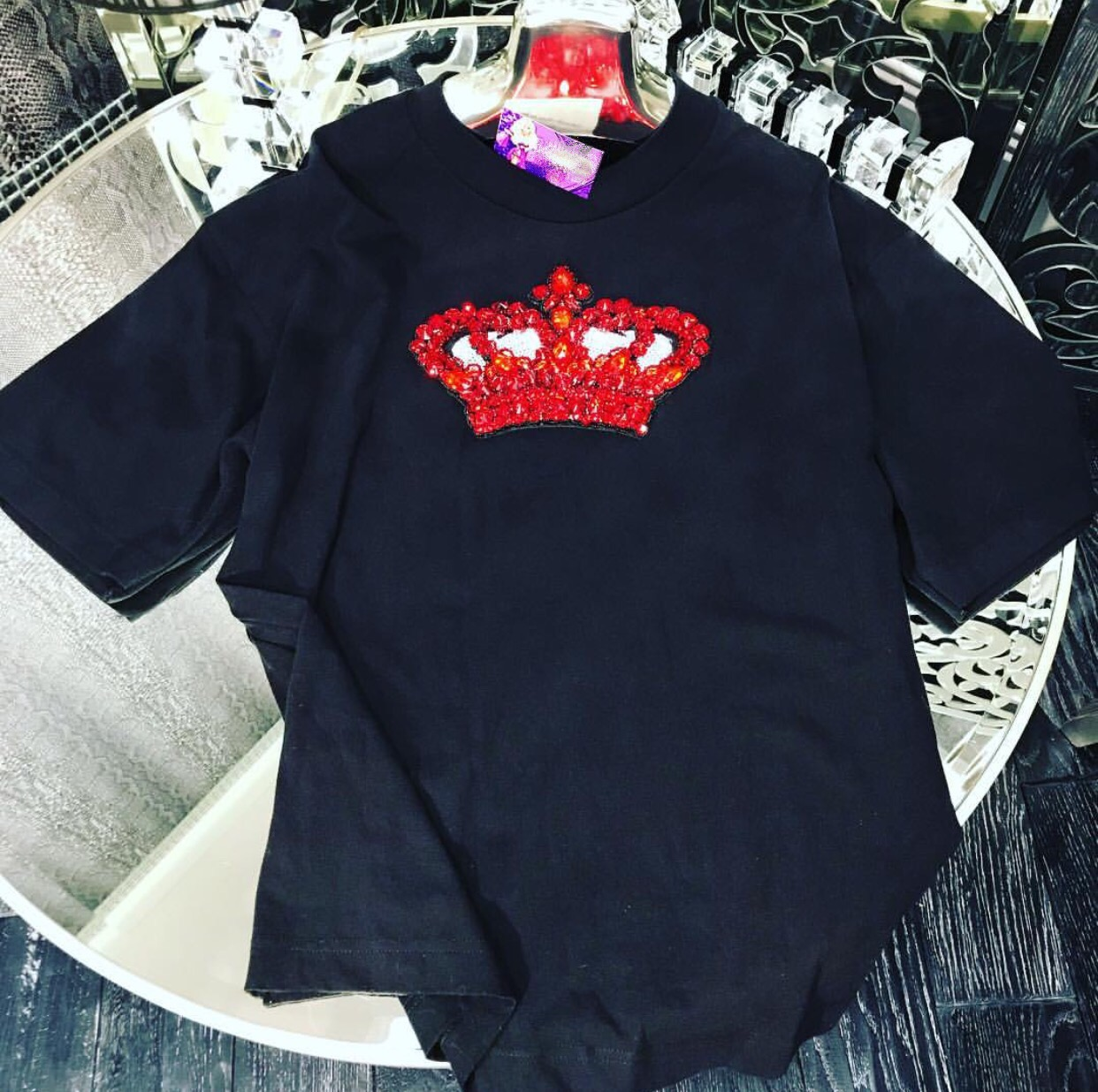 Velvet crown t-shirt