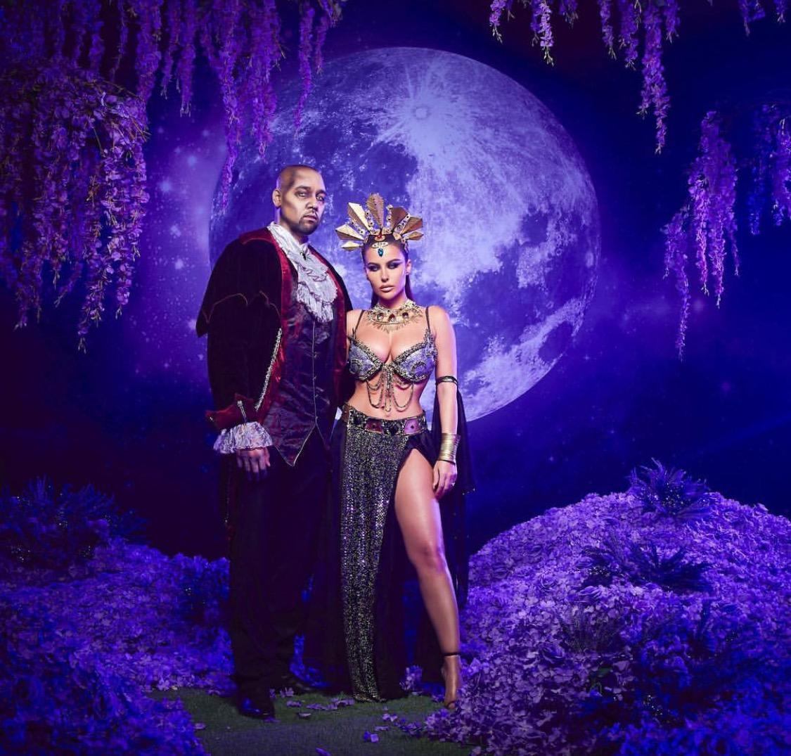 Amrezy's Queen of the damned Halloween look is beyond surreal