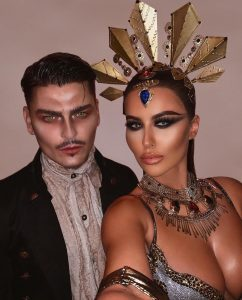 Amrezy's Queen of the damned Halloween look is beyond surreal