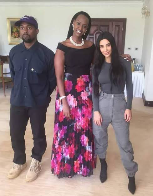 Kanye West and family received in Uganda like Royalty