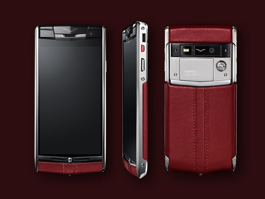 The $10,000 plus Vertu phone comes with a personal assistant