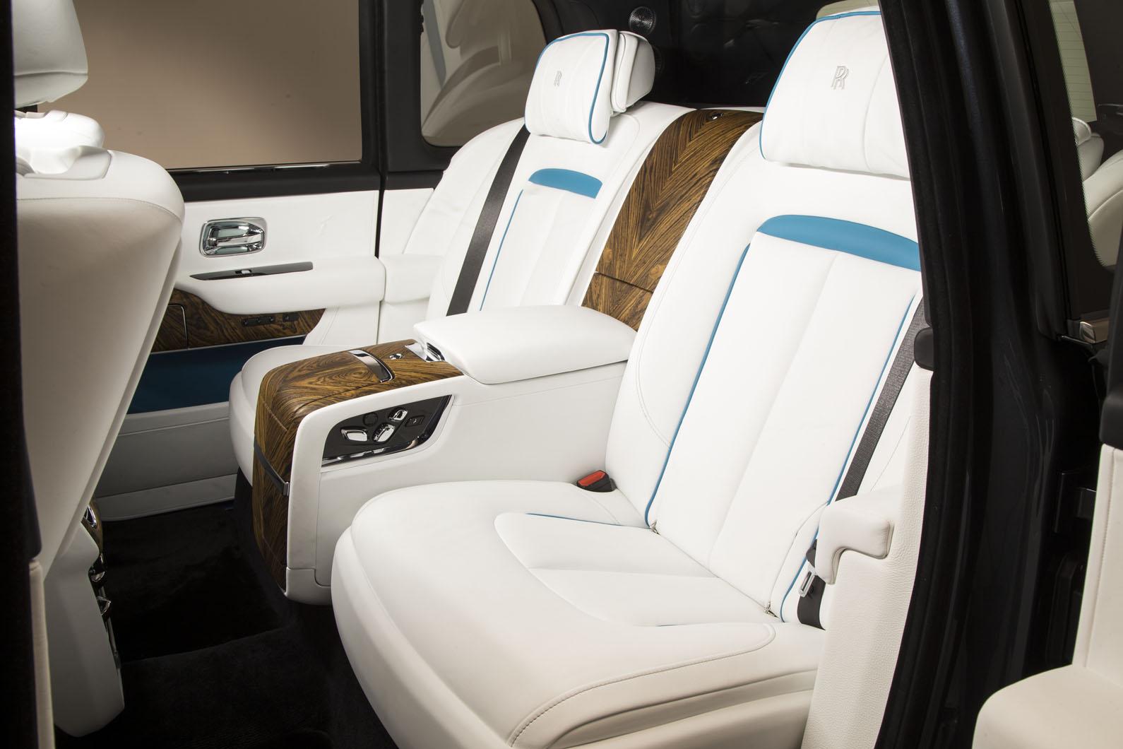 2019 Rolls Royce Cullinan Interior Slaylebrity