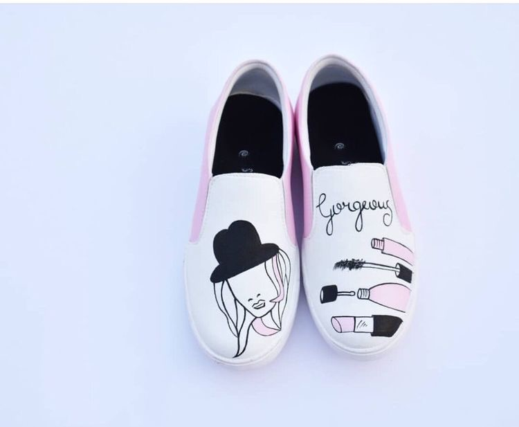 Artsy loafers