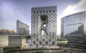 Zaha Hadid Architects Unveils Morpheus Hotel in Macau, China