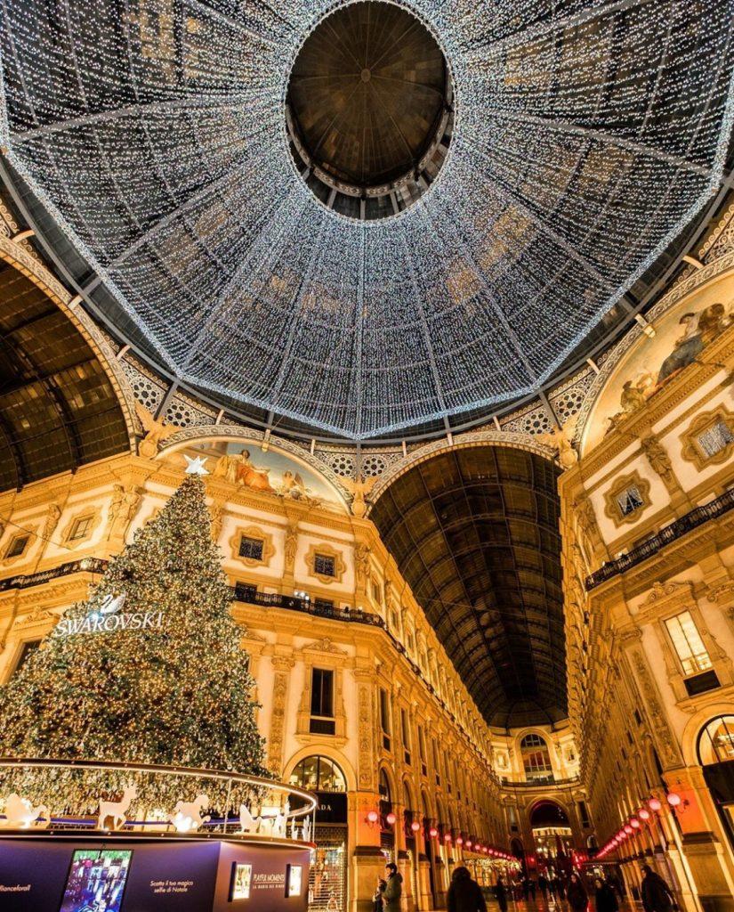 Christmas at Galleria Vittorio Emanuele