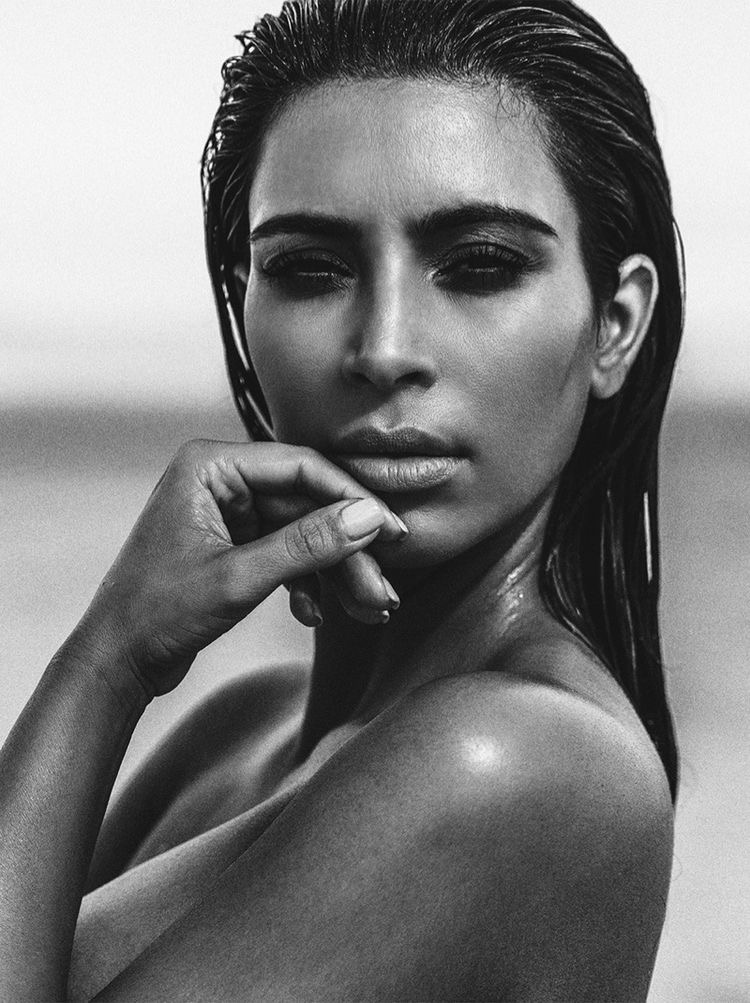 How To Do The Kim Kardashian Wet Hair Look Slaylebrity