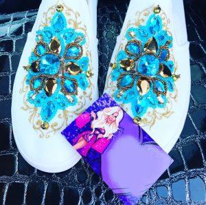 Luxury Embellished Loafers
