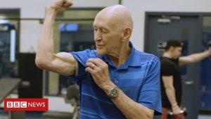 Worlds fittest 90 yr old Grandpa says his secret is Apple cider Vinegar