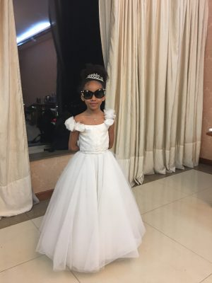 Flower Girl Pearl dress
